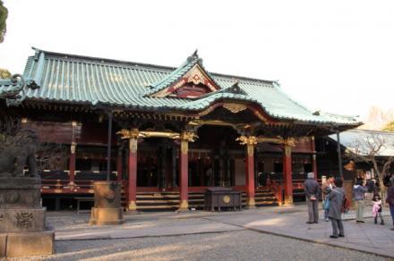 根津神社で行われた車いすでの防災訓練