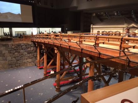 江戸東京博物館の日本橋レプリカ