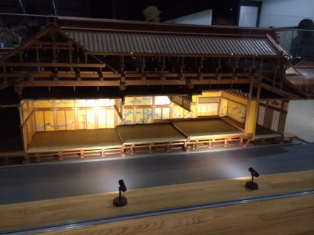 江戸東京博物館の展示品