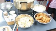 生姜焼きにあわせた味噌汁の材料