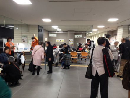 文京福祉祭りの会場の様子