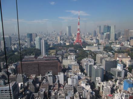 世界貿易センタービル展望台からの景色