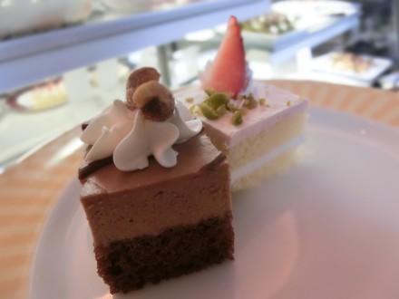 ル ブーケのケーキ