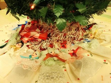 大家さんにいただいたクリスマスの飾り