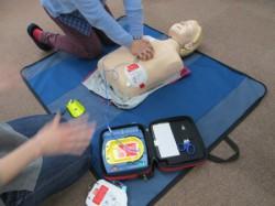 AED7講習実施の風景