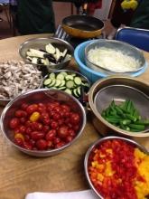 夏野菜カレーの野菜たち