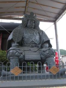 信玄公の像