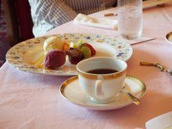 フルーツパーク富士屋ホテルの昼食
