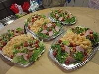 サラダの完成