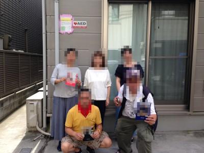 銀杏企画料理係10周年のアルバムを進呈