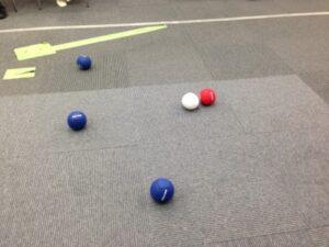 ボッチャのボール