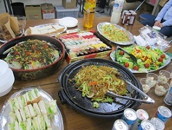 歓送迎会の料理