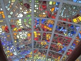 箱根彫刻の森のステンドグラス