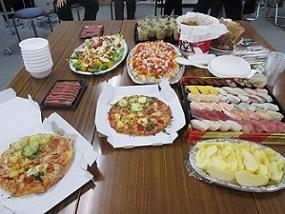 2018年本郷の森銀杏企画セカンドクリスマス忘年会の料理