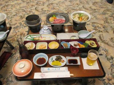 鬼怒川ホテル三日月の食事